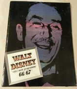 Programme Cinéma Walt Disney 66/67 - - Other Collections