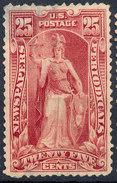 Stamp Us 1895 Scott? NEWSPAPER STAMPS 25c  Lot#37 - Unused Stamps
