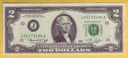 USA - Billet De 2 Dollars. 1976. Pick: 461. NEUF - Biljetten Van De  Federal Reserve (1928-...)