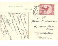Belgisch Congo Belge TP 175 S/CP S.S.Anversville C.Courrier De Haute Mer Paquebot Anversville V.Belgique PR4228 - Congo Belge