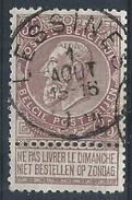 N°61, 35c Brun Càd LESSINES  Superbe - 1893-1900 Fine Barbe