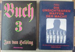Jan Van Helsing - Buch 3 / Falke - Die Unsichtbaren Waffen Der Macht, Ewert Verlag 1995/6 Verschwörungstheorien - Altri