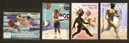 Papouasie Papua New Guinea 2004 Yvertn° 1002-1005 *** MNH Cote 10,50 Euro  Sport - Papouasie-Nouvelle-Guinée