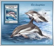 Niger - Postfris / MNH - Sheet Dolfijnen 2017 - Niger (1960-...)