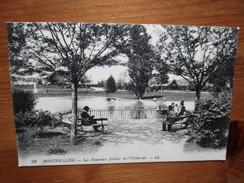 Montpellier. Les Nouveaux Jardins De L'Esplanade. LL 53. Ecrite 1918. - Montpellier