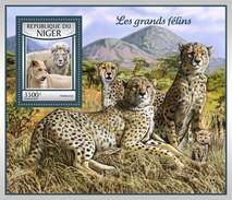 Niger - Postfris / MNH - Sheet Grote Katachtigen 2017 - Niger (1960-...)