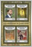 Niger - Postfris / MNH - Sheet Gustav Klimt 2017 - Niger (1960-...)