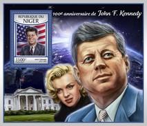 Niger - Postfris / MNH - Sheet John F. Kennedy 2017 - Niger (1960-...)