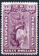 Stamp Us  Scott? NEWSPAPER STAMPS Private Perfaration  $60  Lot#46 - Unused Stamps