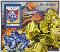 Niger - Postfris / MNH - Sheet Mineralen 2017 - Niger (1960-...)