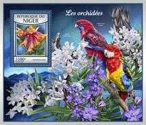 Niger - Postfris / MNH - Sheet Orchideën 2017 - Niger (1960-...)