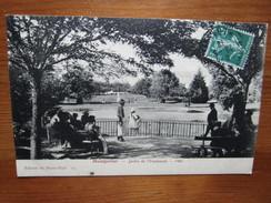 Montpellier. Jardin De L'Esplanade - 1900. Edition Du Photo-Hall II. 17622. Voyagee 1912 - Montpellier
