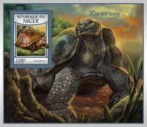 Niger - Postfris / MNH - Sheet Schildpadden 2017 - Niger (1960-...)