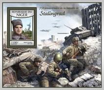 Niger - Postfris / MNH - Sheet Slag Bij Stalingrad 2017 - Niger (1960-...)