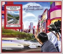Niger - Postfris / MNH - Sheet Sneltreinen 2017 - Niger (1960-...)