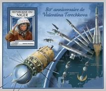 Niger - Postfris / MNH - Sheet Valentina Tereshkova 2017 - Niger (1960-...)
