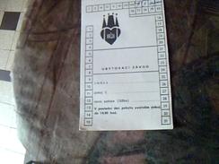 """Vieux Papier Carte D Hotel Hotel Irji A Prague Sovaquie """" Ex Tchecoslovaquie"""" - Hotelkarten"""
