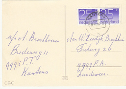 Ansicht 18 Dec 1985 Kantens (stempeltype CB) - Postal History