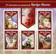 Guinee Bissau - Postfris / MNH - Sheet Marilyn Monroe 2017 - Guinea-Bissau
