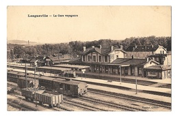 (13474-77) Longueville - La Gare Voyageurs - Autres Communes