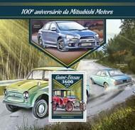 Guinee Bissau - Postfris / MNH - Sheet Mitsubishi Auto's 2017 - Guinea-Bissau
