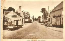 PIE-17-E.729 : COSNE. ROUTE DE DONZY. - Cosne Cours Sur Loire