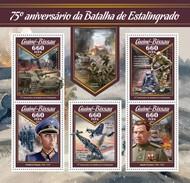 Guinee Bissau - Postfris / MNH - Sheet Slag Bij Stalingrad 2017 - Guinea-Bissau