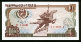 Korea Nord 1978, 10 Won - UNC - Korea (Nord-)