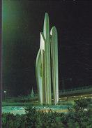 Saudi PPC Arabia Jeddah - Allah By Night Tag Art's Saudi Photo Gérard Delorme (2 Scan) - Saudi-Arabien
