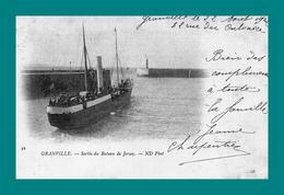 REPRODUCTION 50 Granville Sortie Du Bateau De Jersey ( Phare ) - Granville