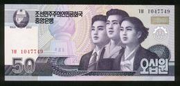 Korea 2002, 50 Won - UNC - Korea (Nord-)