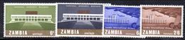 R862 - ZAMBIA  1967 , Serie 30/31 + 32/33   Gomma Integra  ***  MNH - Zambia (1965-...)