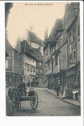 Carte De Montluçon Une Rue  ( Recto Verso ) - Montlucon