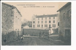 Carte De La Chaise Dieu école ( Café Restaurant ) ( Recto Verso )