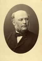 France Jules Grévy Homme D'Etat Ancienne Photo Carte Cabinet Mulnier 1870