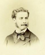 France Homme Politique Ou Artiste? Non Identifie Ancienne Photo Carte Cabinet Lejeune 1868