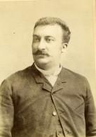 France Fernand Denoye Chanteur D'Opera Tenor Ancienne Photo Carte Cabinet Moses 1883