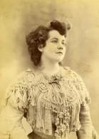 France Corton Actrice De Theatre Ancienne Photo Carte Cabinet Reutlinger 1900 - Photographs