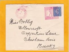 1943 - WW2 - Enveloppe De Londres à Chesham Bois, Angleterre - Oblitération Spéciale Bataillon Tchécoslovaque - Postmark Collection