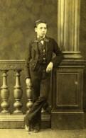 France General Mayniel Enfant Mode Second Empire Ancienne Photo CDV Moulin 1860