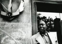 Memphis Slim Jazz Blues Singer Pianist France Old Fauchard Photo 1980'