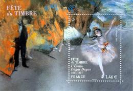 France, Dance, Edgard Degas, Stamp Day, 2017, MNH VF