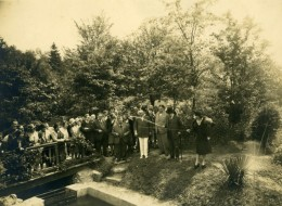 France Rambouillet La Truite Au Moulin De Bicherel Ancienne Photo Manuel 1929