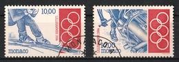 Monaco 1994 : Timbres Yvert & Tellier N° 1924 Et 1925. - Gebruikt