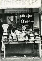 France Paris ? Devanture D'une Boucherie Magasin Ancienne Photo 1930' - Photographs