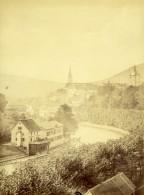 Suisse Argovie Baden Vue Generale Ancienne Photo 1870 - Photographs