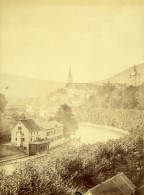 Suisse Argovie Baden Vue Generale Ancienne Photo 1870 - Old (before 1900)