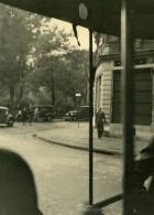 France Paris Scene De Rue Automobiles Ancienne Photo Sylvain Knecht Vers 1940 - Photographs