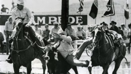 USA Texas Gary Le Petit Cowboy Rodeo Photo Dominique Darbois 1960'