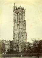 France Paris Tour Saint Jacques Ancienne Photo Mansuy 1868